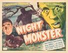 Night Monster - Movie Poster (xs thumbnail)