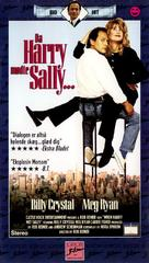 When Harry Met Sally... - Danish VHS movie cover (xs thumbnail)