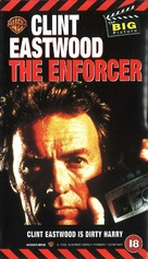 The Enforcer - British VHS movie cover (xs thumbnail)