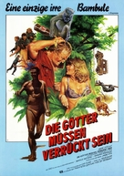The Gods Must Be Crazy - German Movie Poster (xs thumbnail)