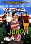 Juno - Brazilian DVD movie cover (xs thumbnail)