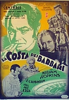 Barbary Coast - Italian Movie Poster (xs thumbnail)