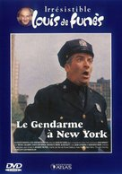 Le gendarme à New York - French Movie Cover (xs thumbnail)