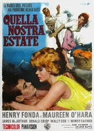 Spencer's Mountain - Italian Movie Poster (xs thumbnail)