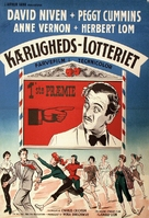 The Love Lottery - Danish Movie Poster (xs thumbnail)