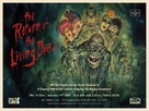 The Return of the Living Dead - British Re-release movie poster (xs thumbnail)
