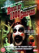 House of 1000 Corpses - British DVD cover (xs thumbnail)