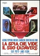 The Groundstar Conspiracy - Italian Movie Poster (xs thumbnail)