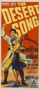 The Desert Song - Australian Movie Poster (xs thumbnail)