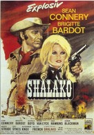 Shalako - German Movie Poster (xs thumbnail)