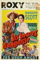 Riding Shotgun - Belgian Movie Poster (xs thumbnail)