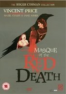 Masque of the Red Death - British Movie Cover (xs thumbnail)