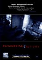 Paranormal Activity 2 - German Movie Poster (xs thumbnail)