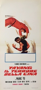 Ten Fingers of Steel - Italian Movie Poster (xs thumbnail)
