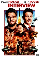 The Interview - Czech DVD movie cover (xs thumbnail)
