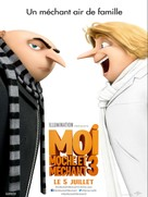 Despicable Me 3 - French Movie Poster (xs thumbnail)