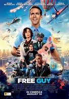 Free Guy - New Zealand Movie Poster (xs thumbnail)