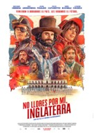 No Llores por mí, Inglaterra - Argentinian Movie Poster (xs thumbnail)