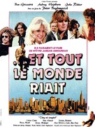 They All Laughed - French Movie Poster (xs thumbnail)