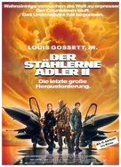Iron Eagle II - German poster (xs thumbnail)