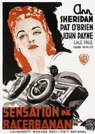 Indianapolis Speedway - Swedish Movie Poster (xs thumbnail)
