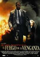 Man On Fire - Spanish Movie Poster (xs thumbnail)