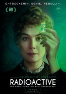 Radioactive - German Movie Poster (xs thumbnail)