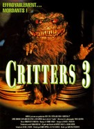 Critters 3 - French DVD movie cover (xs thumbnail)