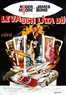 Live And Let Die - Swedish Movie Poster (xs thumbnail)