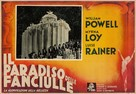 The Great Ziegfeld - Italian Movie Poster (xs thumbnail)