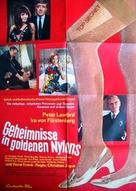 Geheimnisse in goldenen Nylons - German Movie Poster (xs thumbnail)