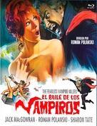 Dance of the Vampires - Spanish Movie Cover (xs thumbnail)