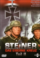 Steiner - Das eiserne Kreuz, 2. Teil - German Movie Cover (xs thumbnail)