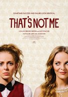 That's Not Me - Movie Poster (xs thumbnail)