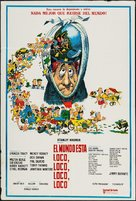 It's a Mad Mad Mad Mad World - Argentinian Movie Poster (xs thumbnail)