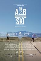 A to B Rollerski - Latvian Movie Poster (xs thumbnail)
