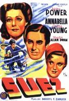 Suez - Spanish Movie Poster (xs thumbnail)