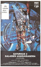 Saturn 3 - Finnish VHS cover (xs thumbnail)