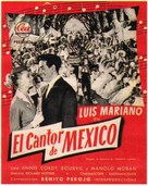 Chanteur de Mexico, Le - Spanish Movie Poster (xs thumbnail)