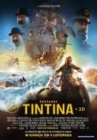 The Adventures of Tintin: The Secret of the Unicorn - Polish Movie Poster (xs thumbnail)