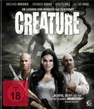Creature - German Blu-Ray cover (xs thumbnail)