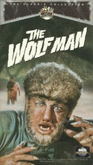 The Wolf Man - VHS movie cover (xs thumbnail)