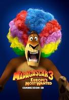 Madagascar 3: Europe's Most Wanted - Teaser movie poster (xs thumbnail)