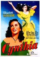 Cynthia - Italian Movie Poster (xs thumbnail)