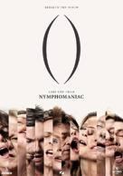 Nymphomaniac - Greek Movie Poster (xs thumbnail)