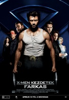 X-Men Origins: Wolverine - Hungarian Movie Poster (xs thumbnail)