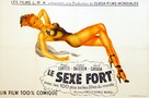 El sexo fuerte - French Movie Poster (xs thumbnail)