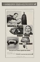 Dracula Has Risen from the Grave - poster (xs thumbnail)