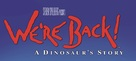 We're Back! A Dinosaur's Story - Logo (xs thumbnail)