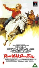 Run Wild, Run Free - British VHS cover (xs thumbnail)